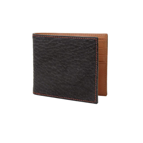 TUSK Men - Accessories - Wallets & Small Goods Amsterdam Buffalo Leather Wallet - Black
