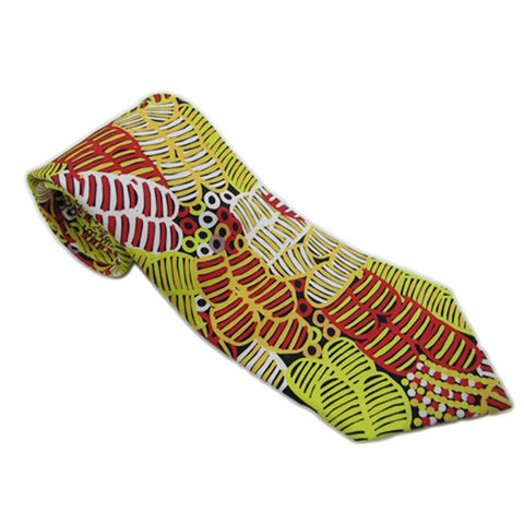 Warrina Designs Men - Accessories - Ties Bush Melon Black Tie