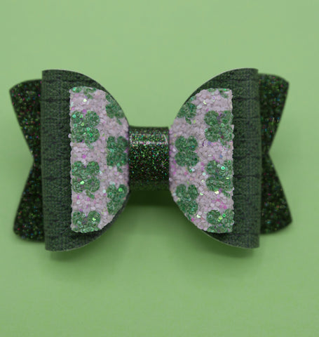 Clover Sparkle Quinnlee Bow - MTL