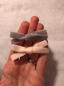 Set of 2 velvet bows or One bow