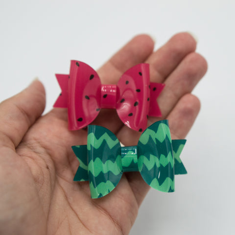Watermelon jelly Ember bow Set - CSS2