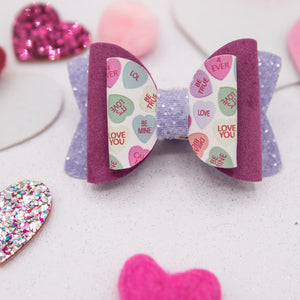Chatty hearts Quinnlee Bow - LOA