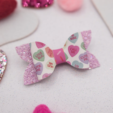Chatty hearts Zoe Bow - LOA