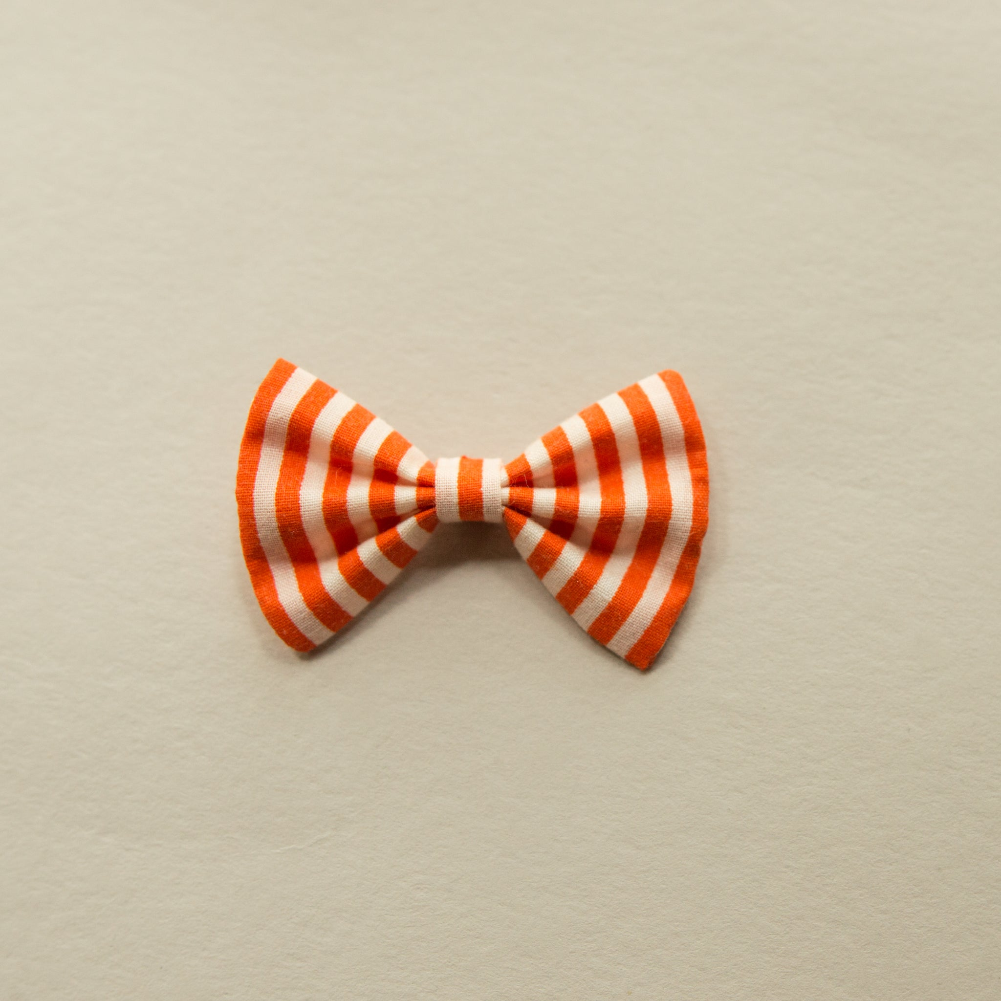 Cotton orange stripe 2 inch - Fall - vintage