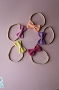 Set of 5 - 2 inch bows