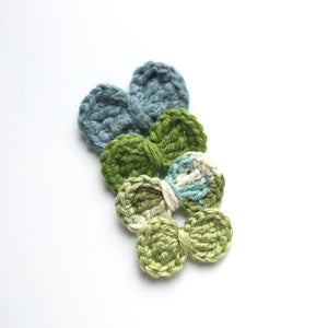 St. Paddy's Day Crocheted Bows