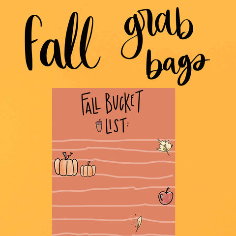Fall grab bag -