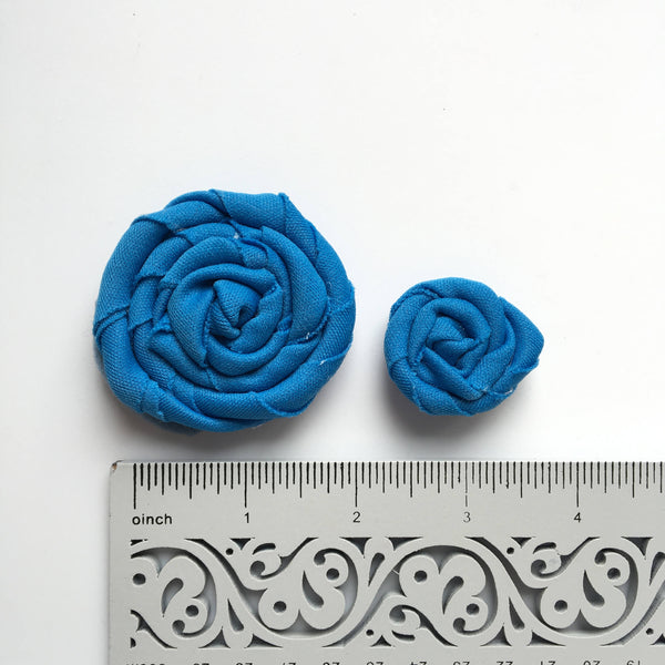 Assorted springtime roses Leaves included // blue, pink, yellow, purple, baby flower
