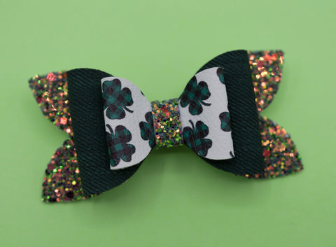 PLAID clover June Bow - MTL