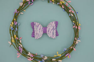 Lavender Quinnlee Bow - HOPE