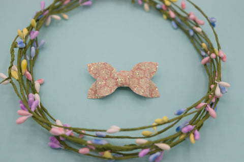 Honeycomb sparkle Zoe Bow - HOPE