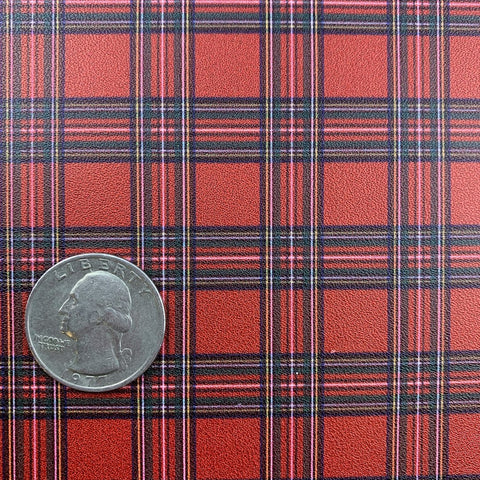 Red Christmas Tartan -O Holy Night