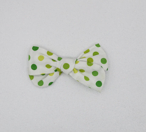 White green dot River Bow - MTL