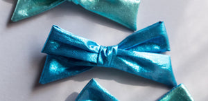 Summer mermaid blue River bow