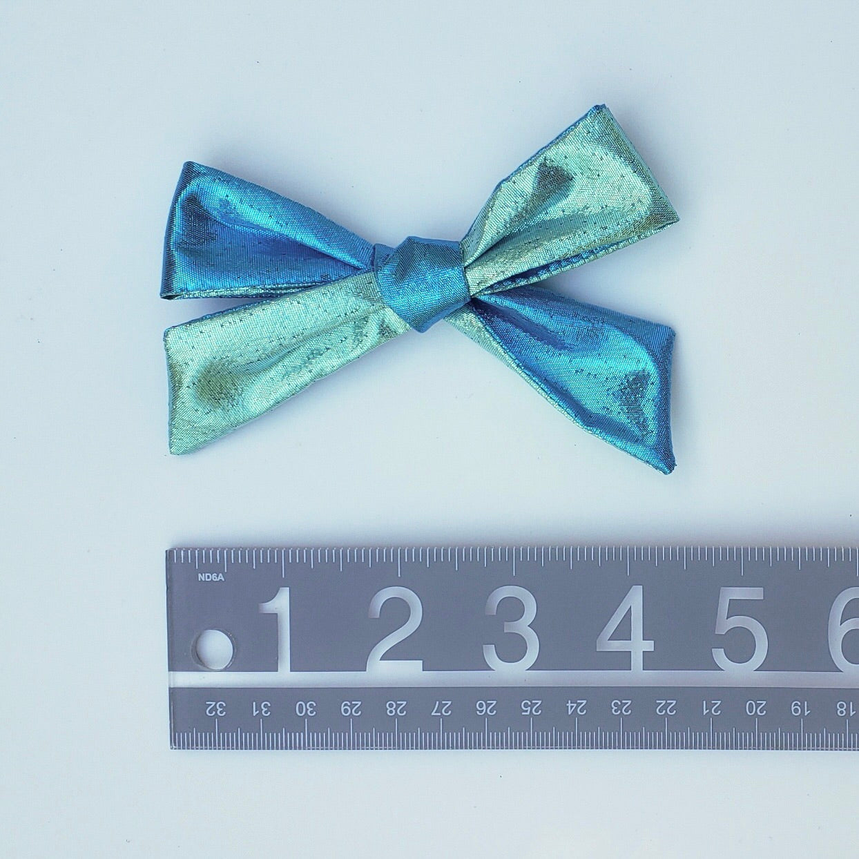 Summer blue/turquoise mermaid River bow