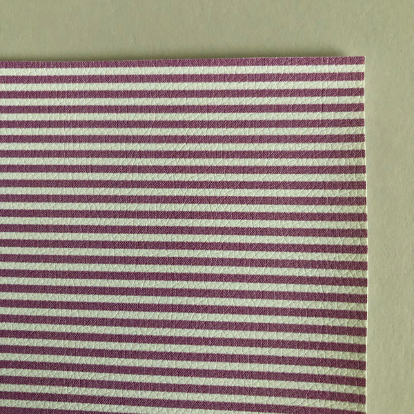 tiny purple stripe faux leather - aug