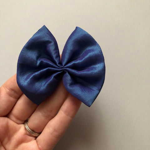 Iridescent Mermaid FAN bow