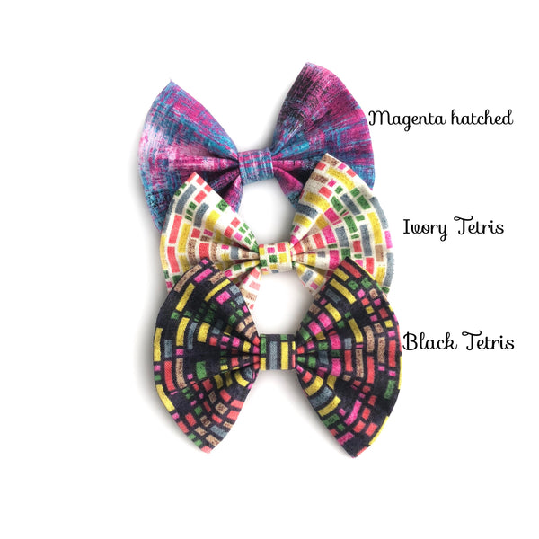 Assorted July Fan bows