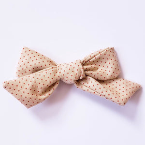 Vintage tiny red dots Elloise Bow