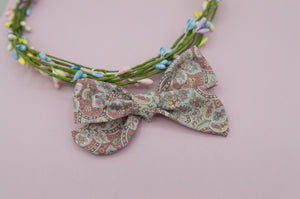 Vintage paisley Elloise Bow 4inch - HOPE SS3