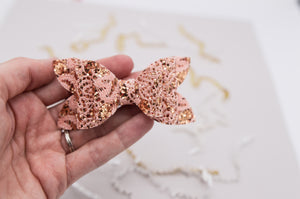 Rose gold lace June Bow - 2020