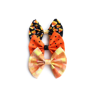 Assorted fall fan bows