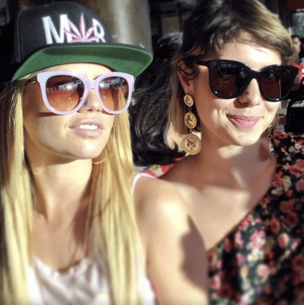 Celebrity Sighting: Chanel West Coast wearing S6 // LAVENDER
