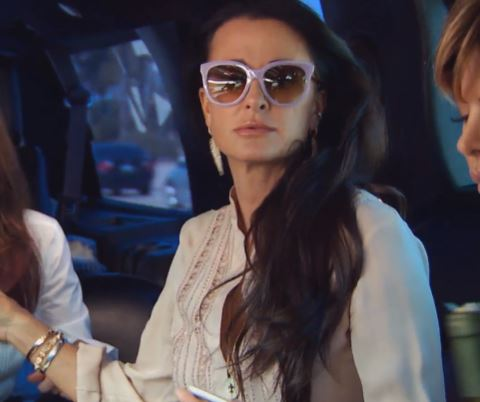 Celebrity Sighting: Kyle Richards wearing S6 // LAVENDER