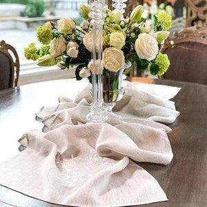 """Victorian Scarf Table Runner - 24"""" Wide"""