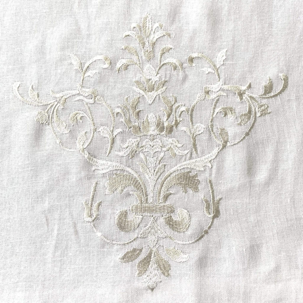 "Crown Linen Designs Table Runners Victorian Scarf Table Runner - 22"" Wide"