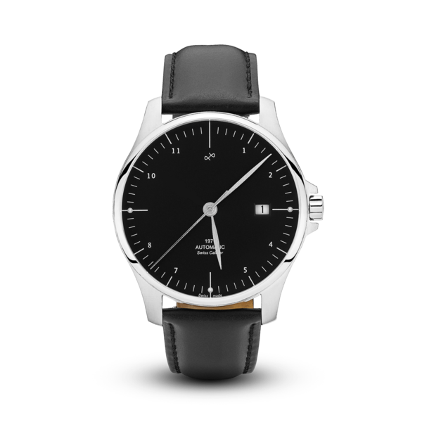 1971 Automatic, Steel / Black - Swiss Made (667356921904)
