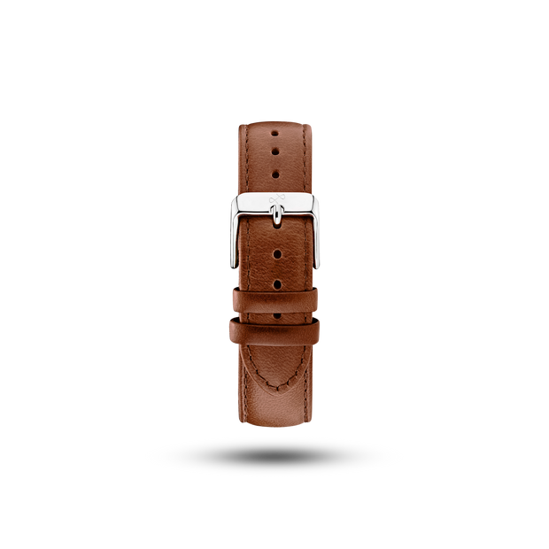 Pin Buckle - Brown Leather (667360428080)