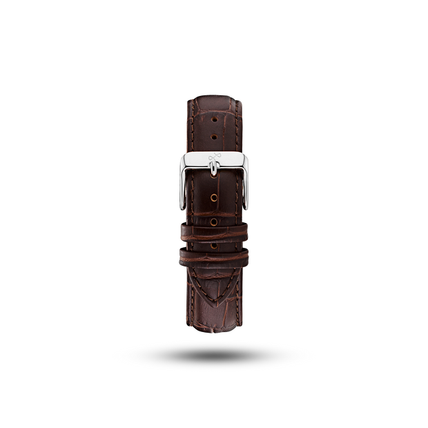 Pin Buckle - Brown Croco (667360002096)