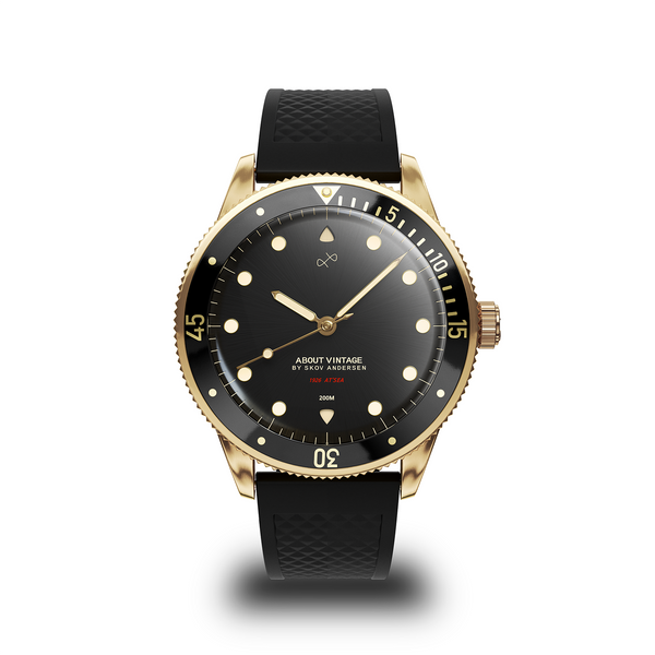 1926 At'sea, Gold / Black Vintage