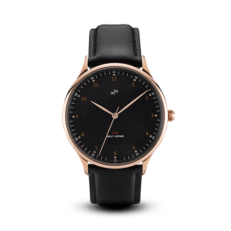 1969 Vintage, Rose Gold / Black