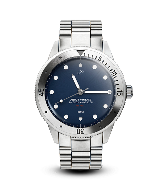 PREORDER - 1926 At'sea, Steel / Steel Blue