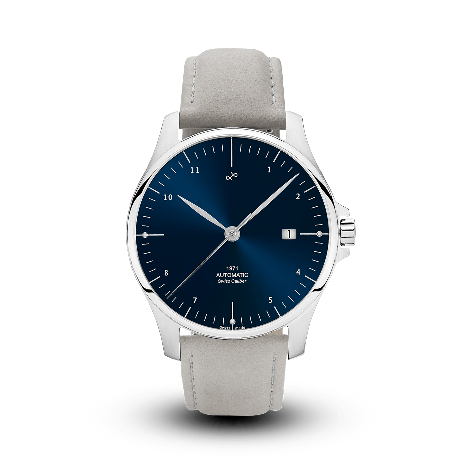 1971 Automatic, Steel / Night Blue - Swiss Made (786921914416)