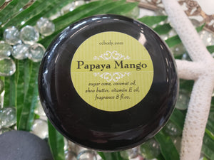 Papaya Mango Sugar Body Scrub