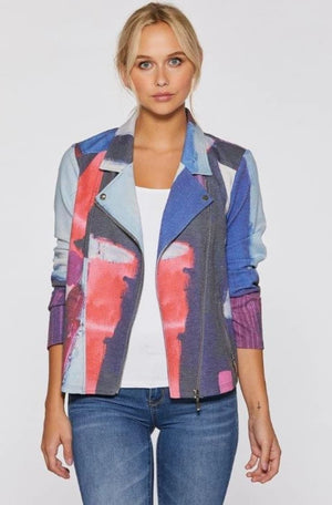 Stretch Moto Jacket