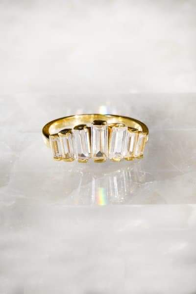 ALIX Ring in 14K Gold Vermeil