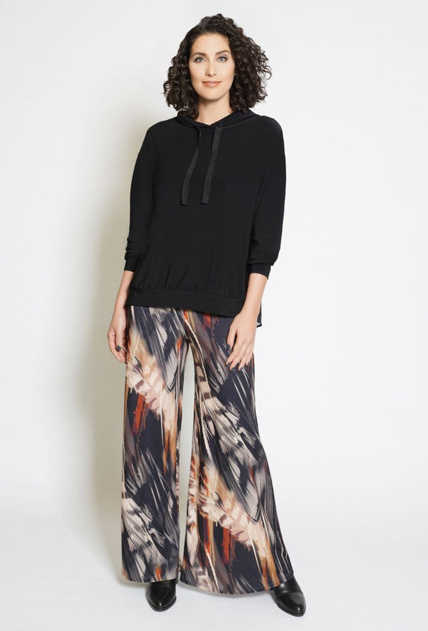 Abstract Fall in LOVE Pants