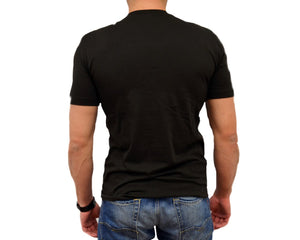 Men's Pima Black SS Crew Neck Tee