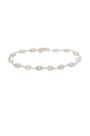 Goddess Choker In Silver