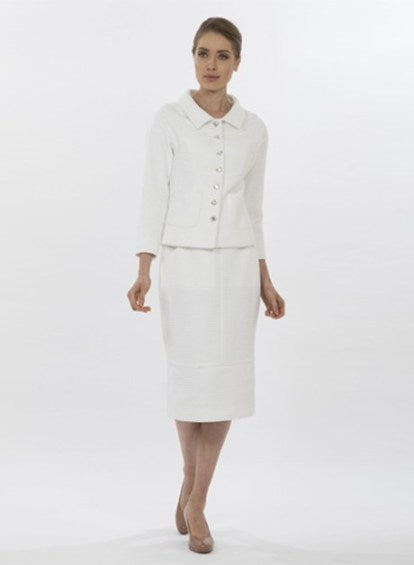 White Tweed Jacket
