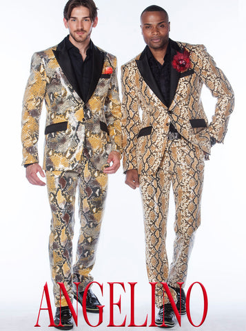 Sequin suits for men