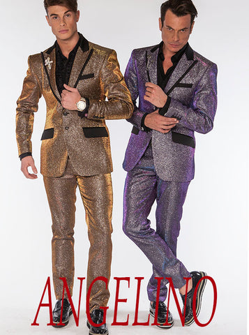 glittering prom suits