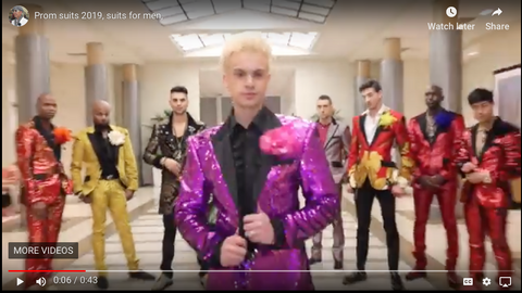 prom suits 2019 video