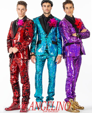 sequin suits