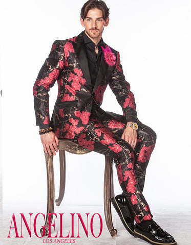 pink prom suit - ANGELINO