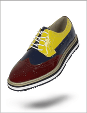 Angelino Shoes-Spirit burgundy/navy